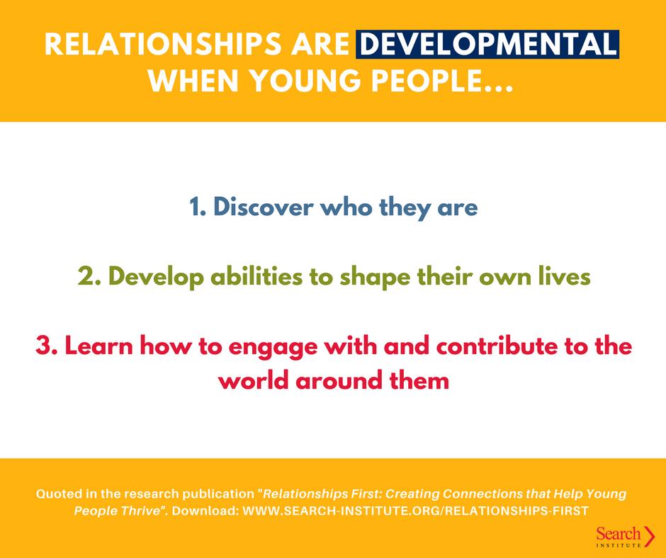 developmental relationships search institute