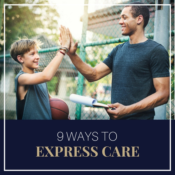 9 Ways to express care