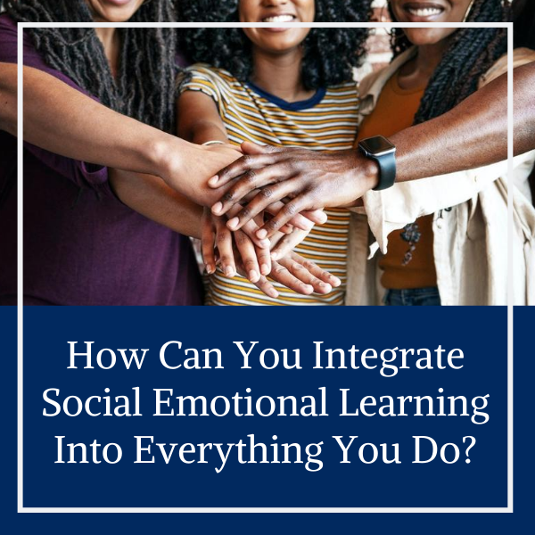 Developmental relationships, social emotional learning, DEI