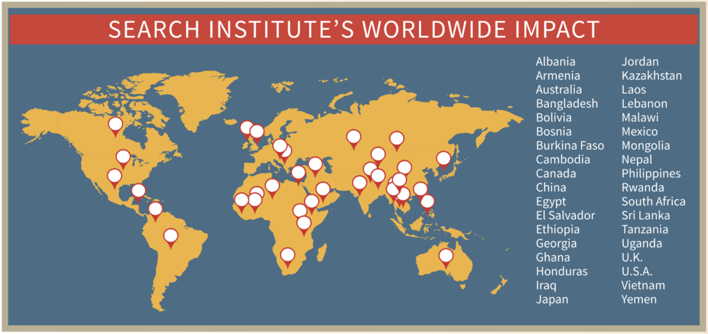 DAP world map 2016