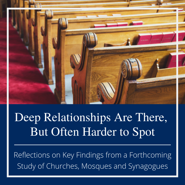 relationships in the faith community